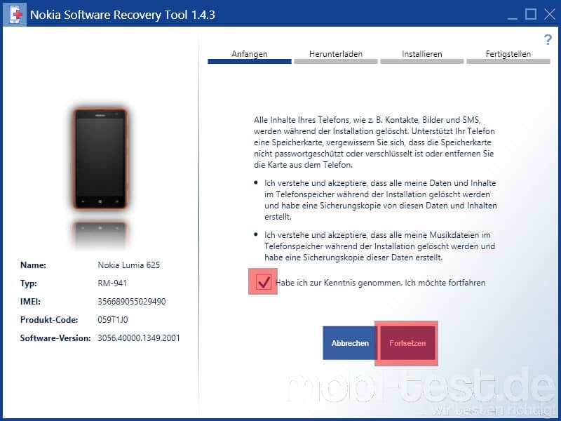 Windows Phone 8.1 Preview auf Windows Phone 8.0 Downgrade_3