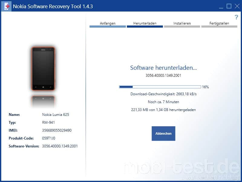 Windows Phone 8.1 Preview auf Windows Phone 8.0 Downgrade_4