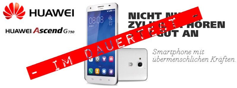 Huawei Ascend G750 Banner