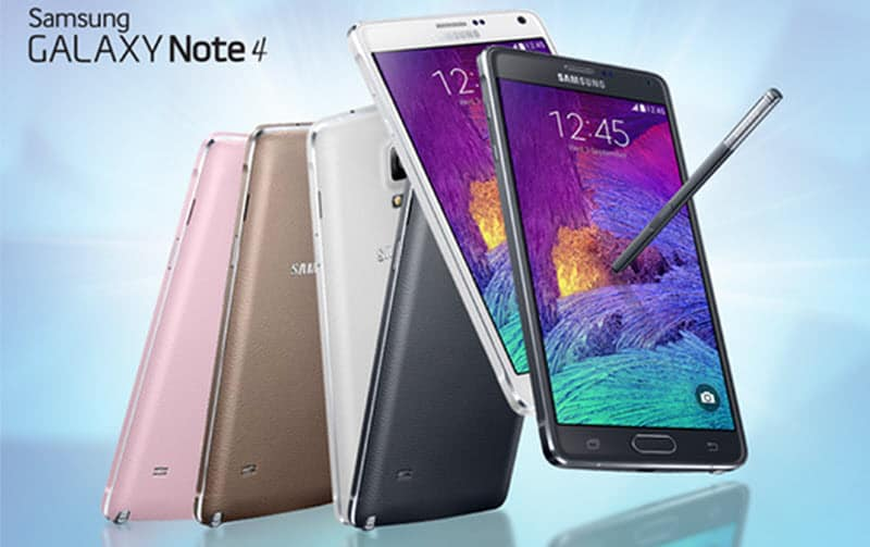 Samsung Galaxy Note 4 Banner