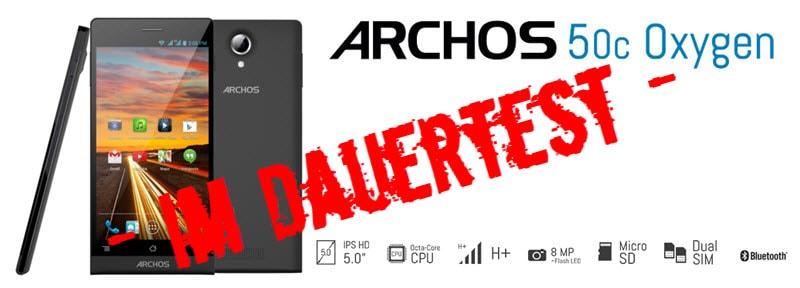 Archos 50c Oxygen Banner