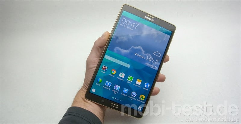 Samsung Galaxy Tab S 8.4 LTE Hands-On (2)