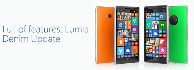Lumia Denim Banner
