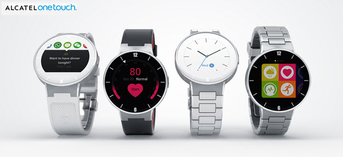 Alcatel OneTouch Watch Banner