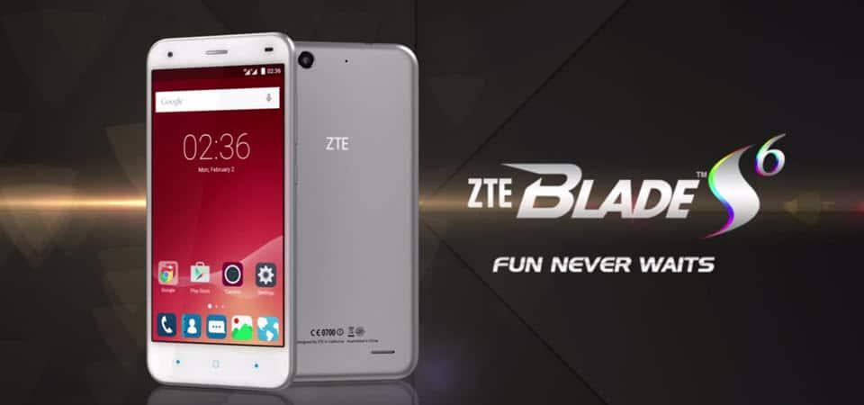 ZTE Blade S6 LTE Banner