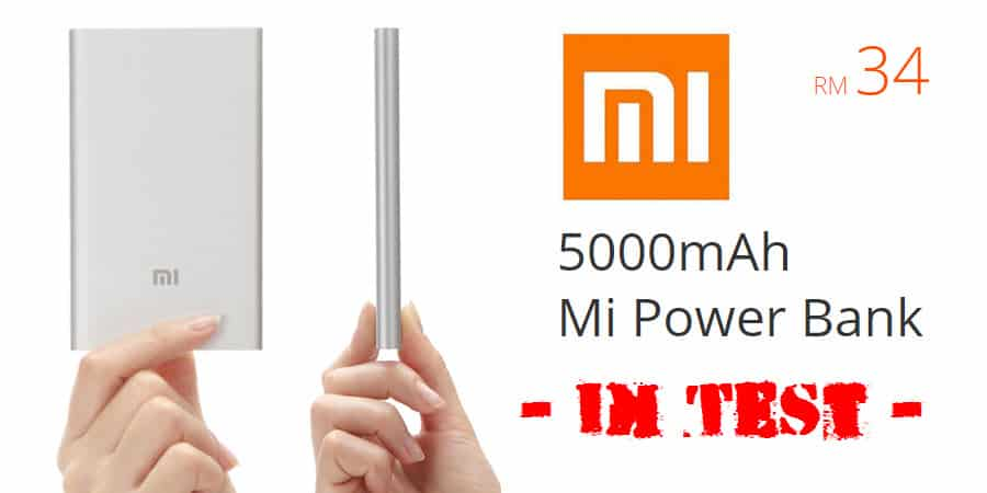 Mi Power Bank 5000 Banner