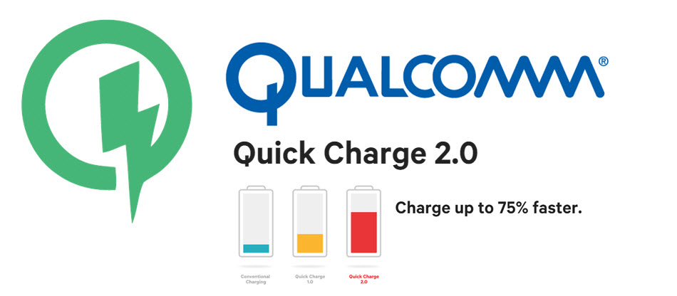 Qualcomm Quick Charge 2.0 Banner