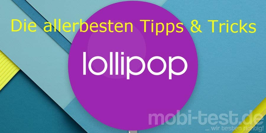 Android 5.0 Lollipop Banner