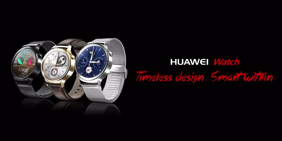 Huawei Watch Banner