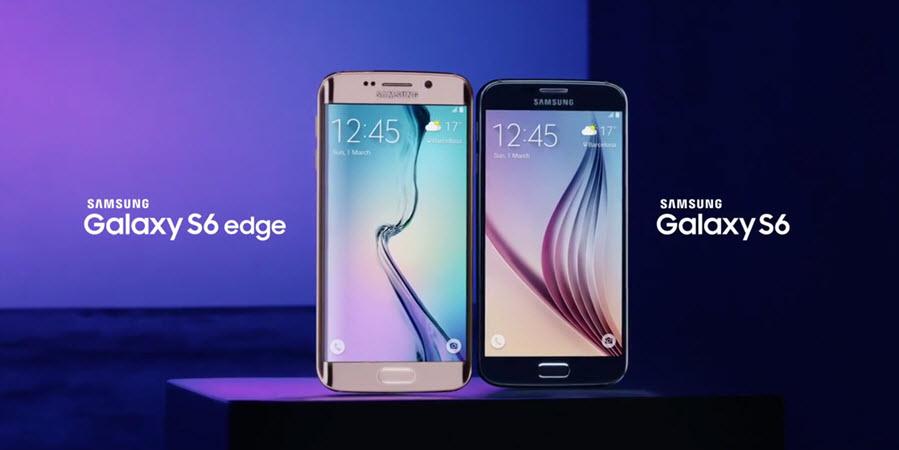 Samsung Galaxy S6 und Galaxy S6 Edge Banner