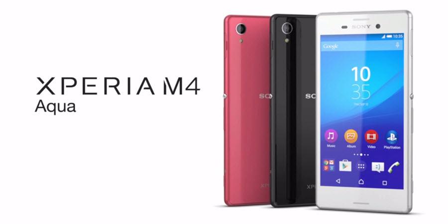 Sony Xperia M4 Aqua Banner