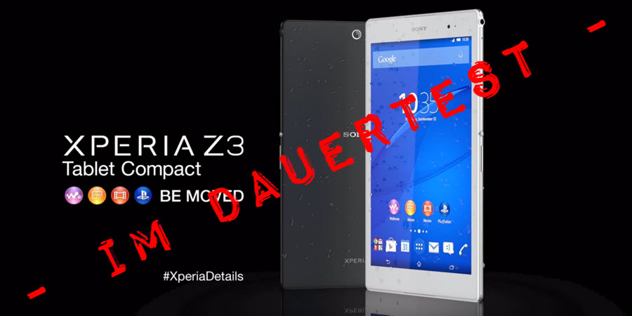 Sony Xperia Z3 Tablet Compact Banner