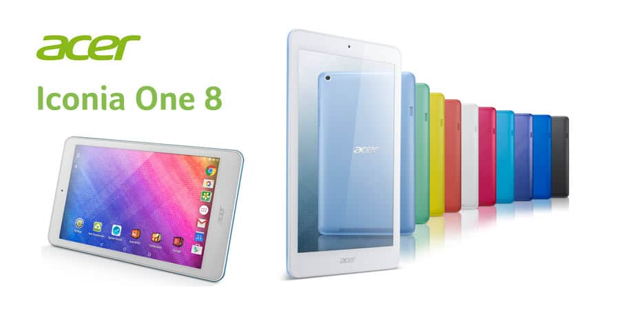 Acer Iconia One 8 B1-820 Banner