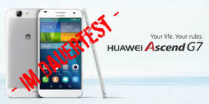 Huawei Ascend G7 Banner