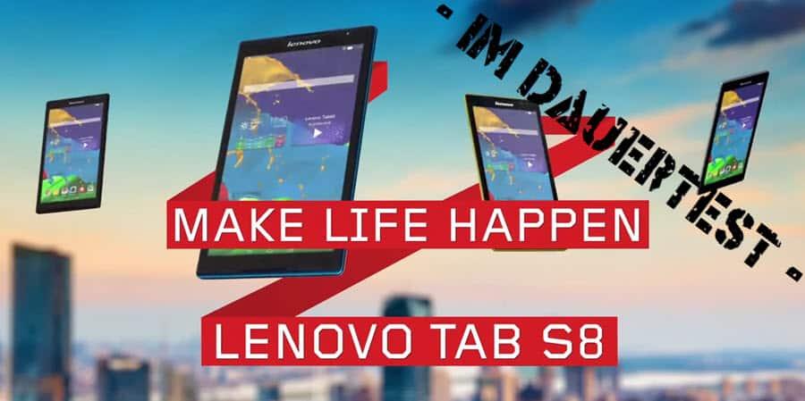 Lenovo Tab S8 Banner