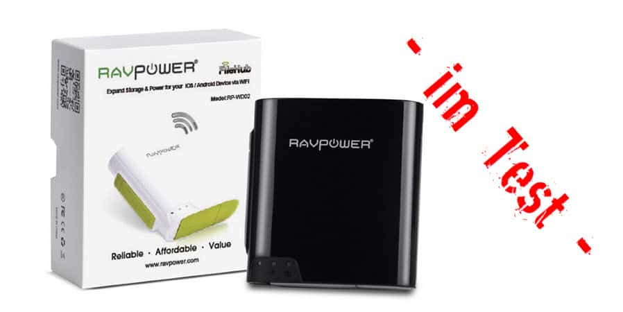 RAVPower FileHub Banner