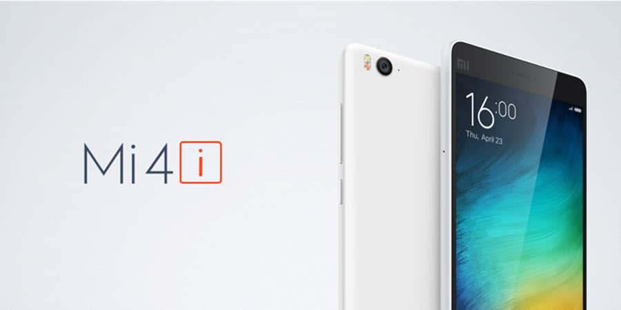 Xiaomi Mi 4i Banner