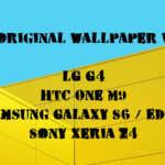 Die offiziellen Wallpaper des LG G4, Sony Xperia Z4, Samsung Galaxy S6/ Edge und HTC One M9 zum herunterladen