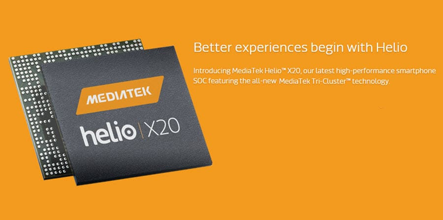MediaTek Helio X20 Banner