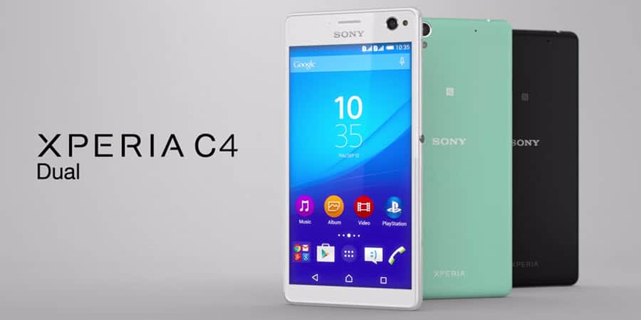 Sony Xperia C4 Banner
