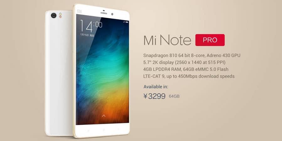 Xiaomi Mi Note Pro_Banner