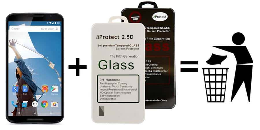 iProtect Tempered Glass Folie Banner