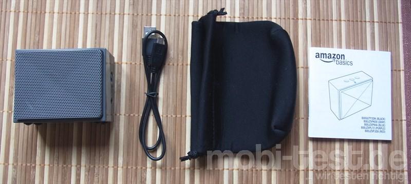 AmazonBasics Tragbarer Mini-Bluetooth-Lautsprecher (2)
