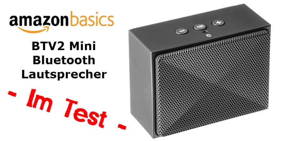 im test der amazonbasics btv2 mini bluetooth lautsprecher mobi test. Black Bedroom Furniture Sets. Home Design Ideas