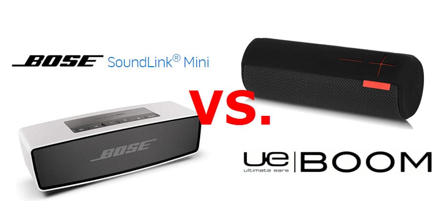 Bose Soundlink Mini vs UE BOOM Banner