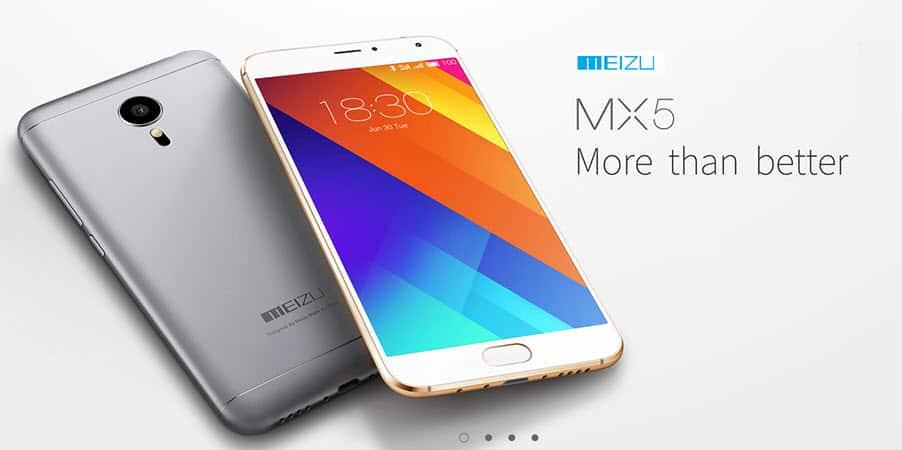 Meizu MX5 Banner