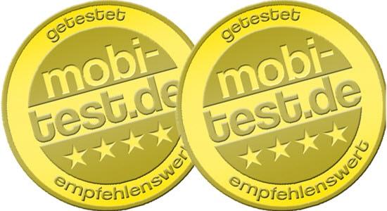 mobi-test.de Gütesiegel