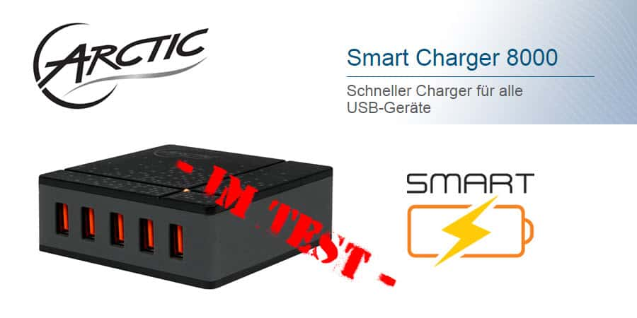 Artic Smart Charger 8000 Banner