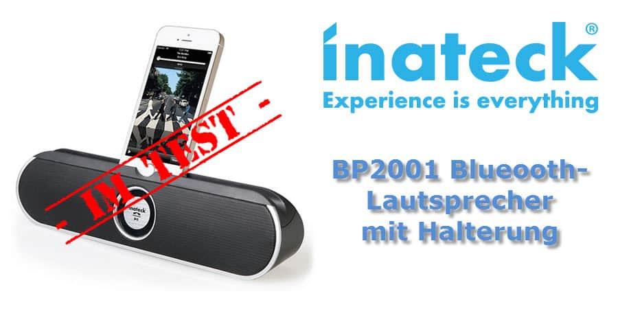 Inateck BP2001 Bluetooth Lautsprecher mit Halter Banner