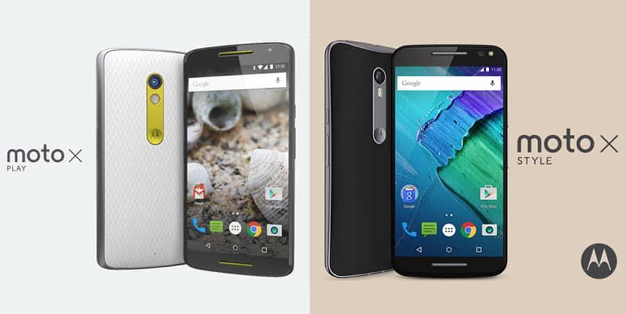 Moto X Play und Moto X Style