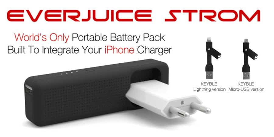 STROM Mobile Battery Pack Banner
