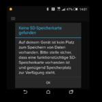 [Lösung] Spotify findet keine SD Speicherkarte
