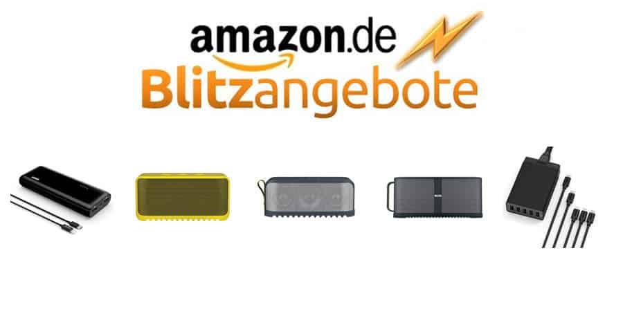 Amazon Blitzangebote Anker Jabra