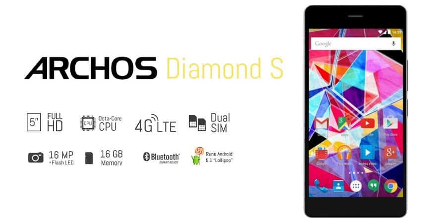 Archos Diamond S Banner