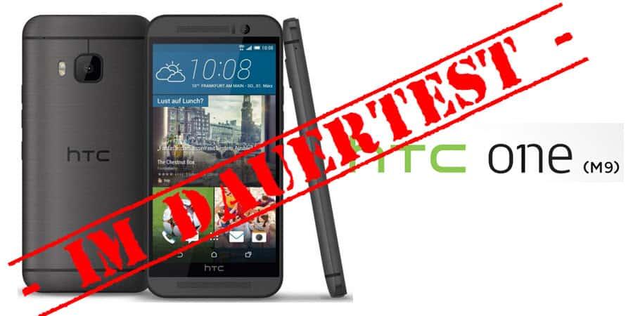 HTC One M9 Test Banner