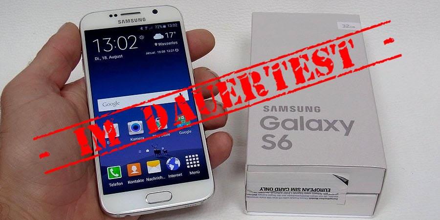 Samsung Galaxy S6 Test Banner