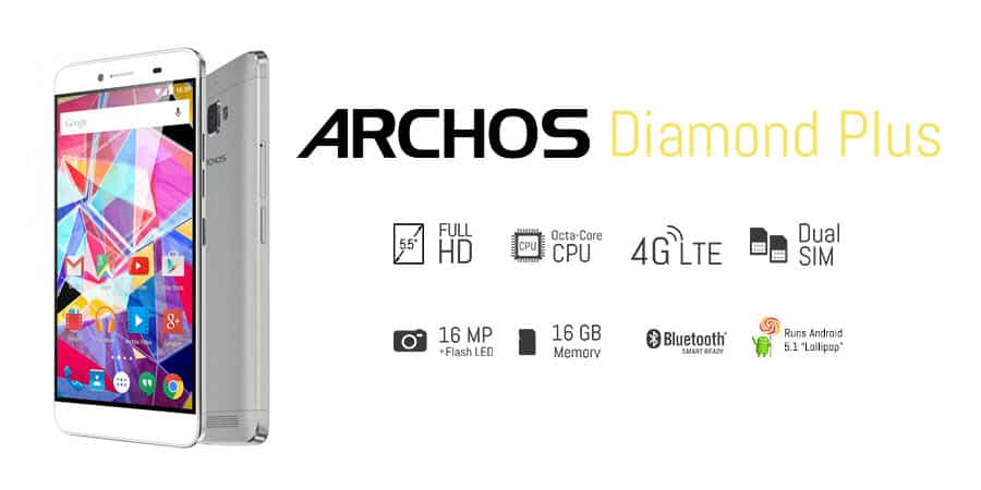 ARCHOS Diamond Plus Banner