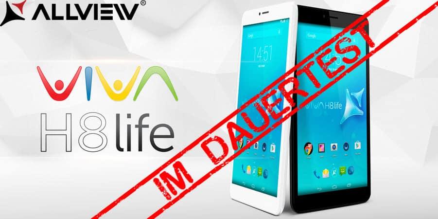 Allview Viva H8 Life Banner