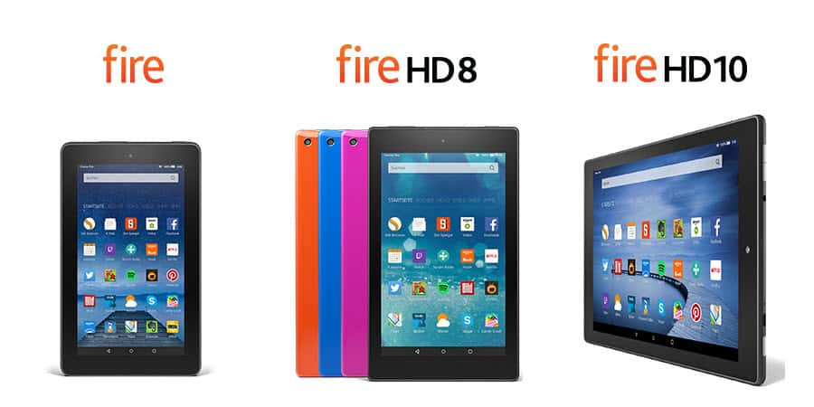 Amazon Fire Tablets 2015 Banner