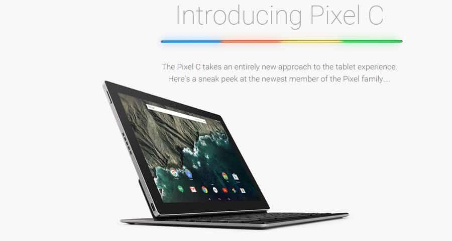 Google Pixel C Banner