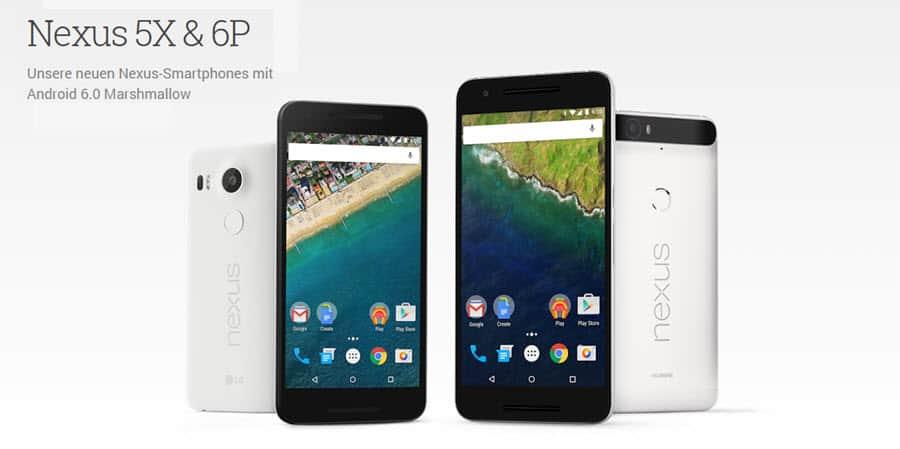Nexus 5X Nexus 6P Banner