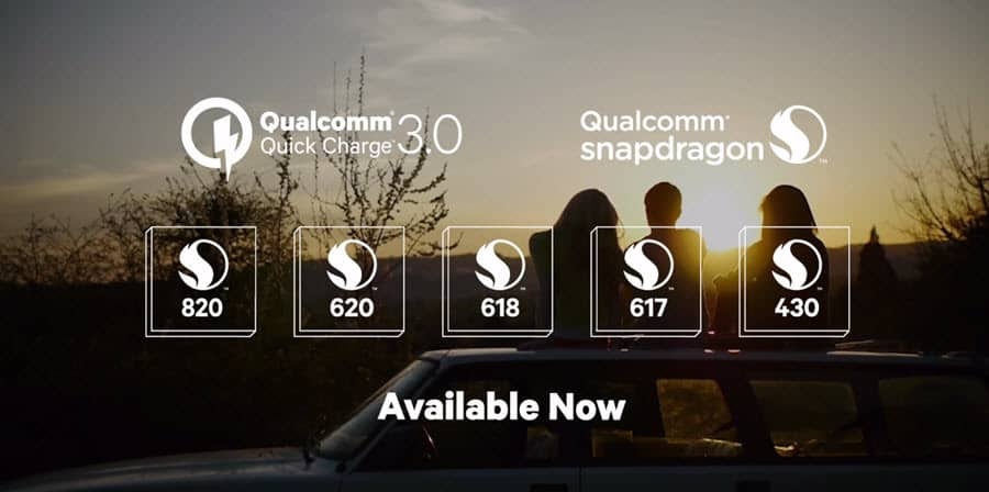 Qualcomm Quick Charge 3.0 Banner