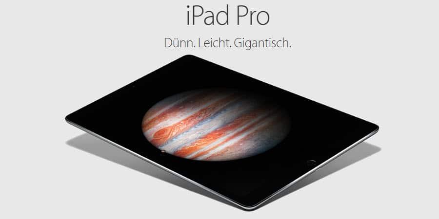 iPad Pro Banner