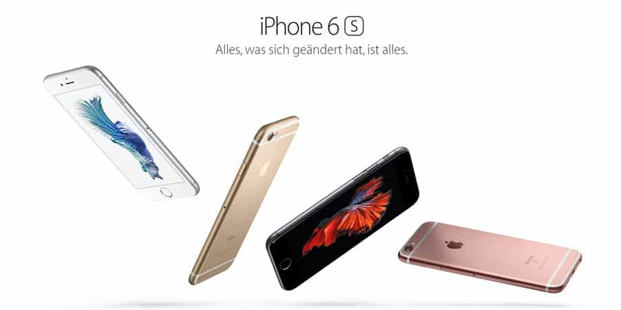 iPhone 6S Banner