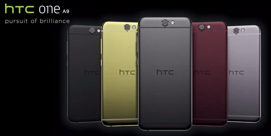 HTC One A9 Banner