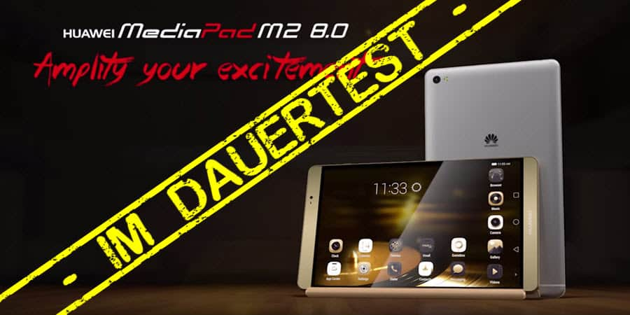 Huawei MediaPad M2 8.0 Test Banner